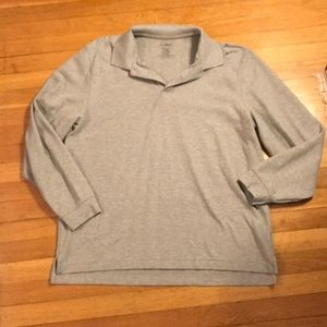 LL Bean long sleeved polo
